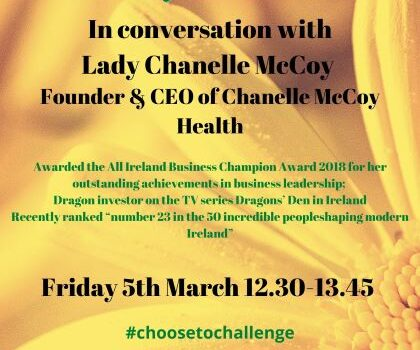 7th International Women's Day Event #choosetochallenge